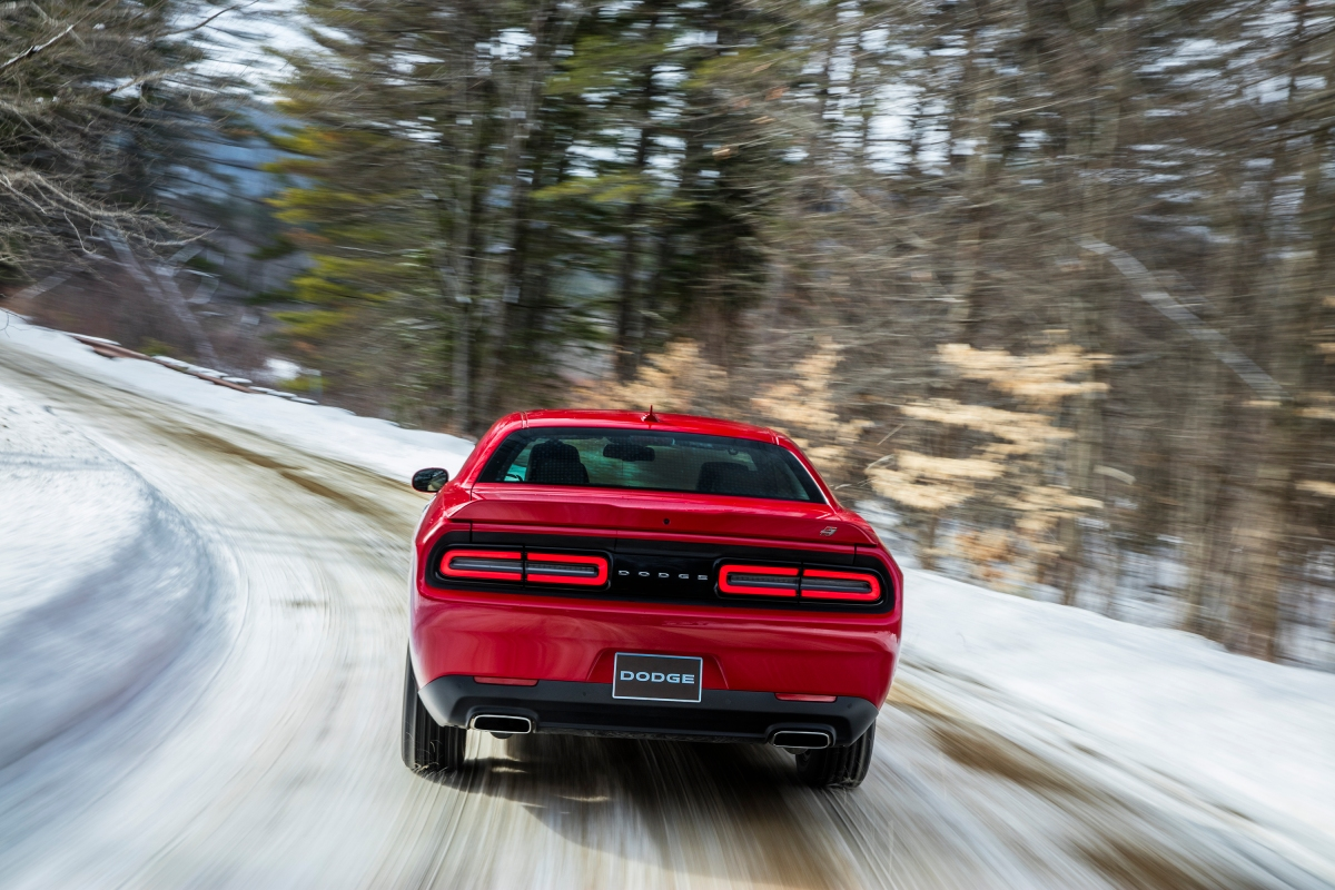 2018 Dodge Challenger GT AWD rear