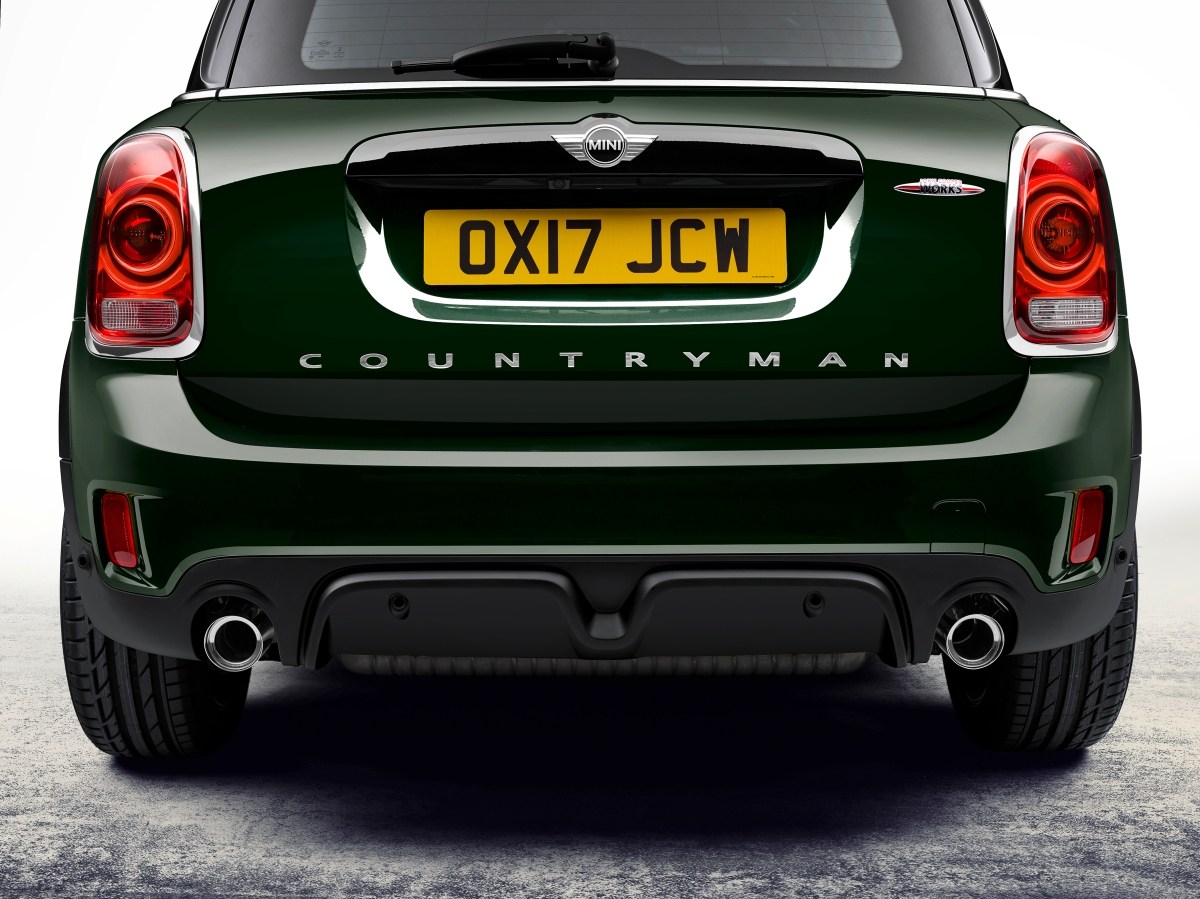 2018 mini john cooper works countryman rear