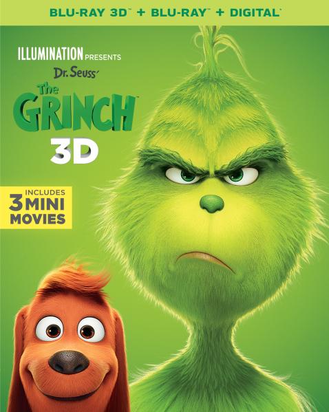 the grinch 2018 blu-ray dvd