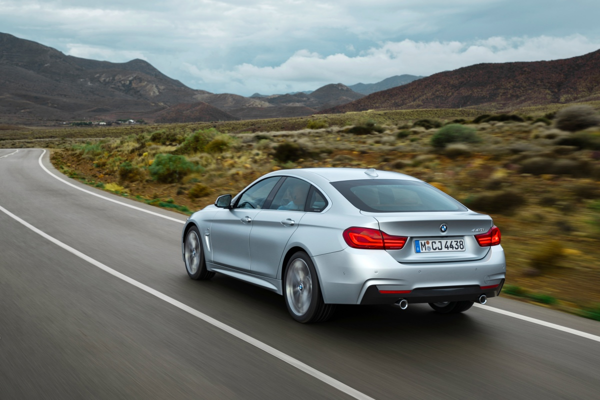 2019 bmw 4 series m sport rear