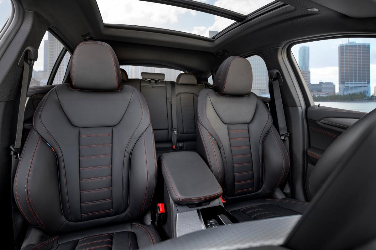 2019 bmw x4 m40i m sports seats
