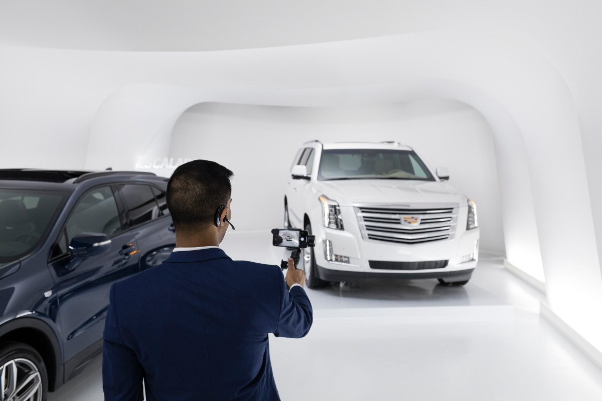 cadillac live agent