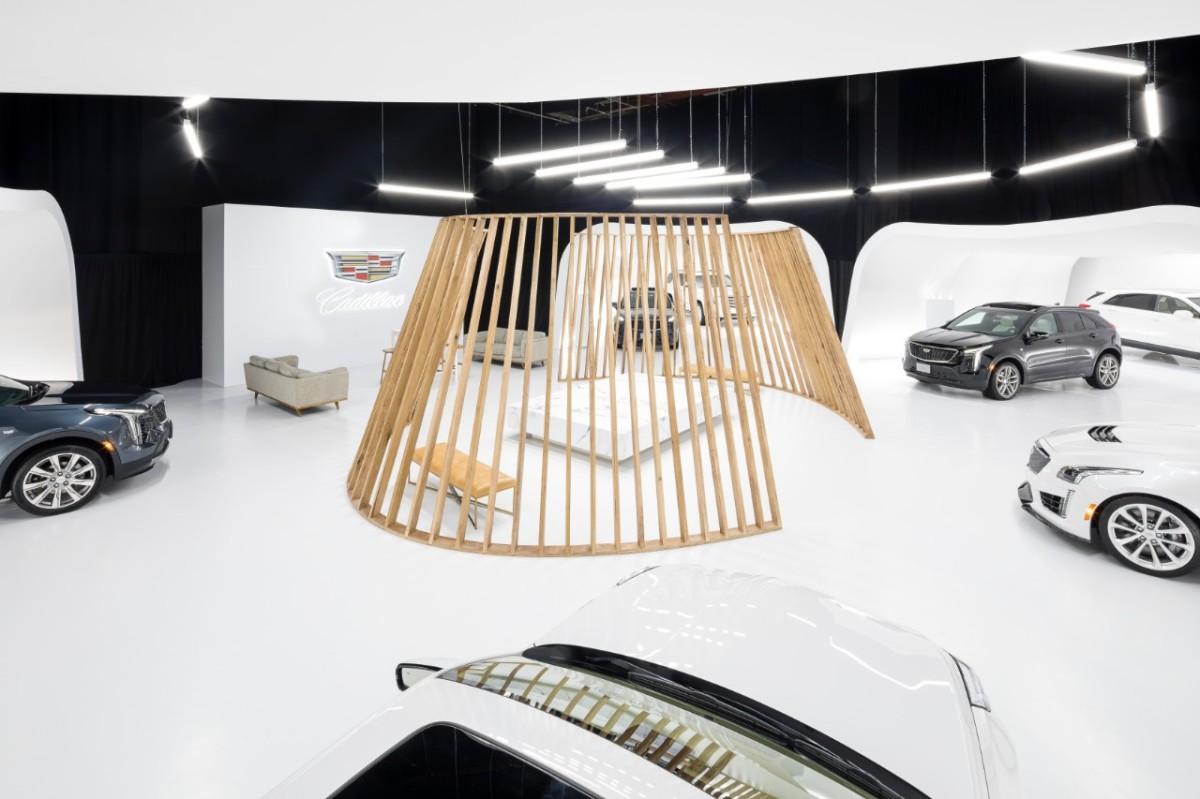 cadillac live showroom