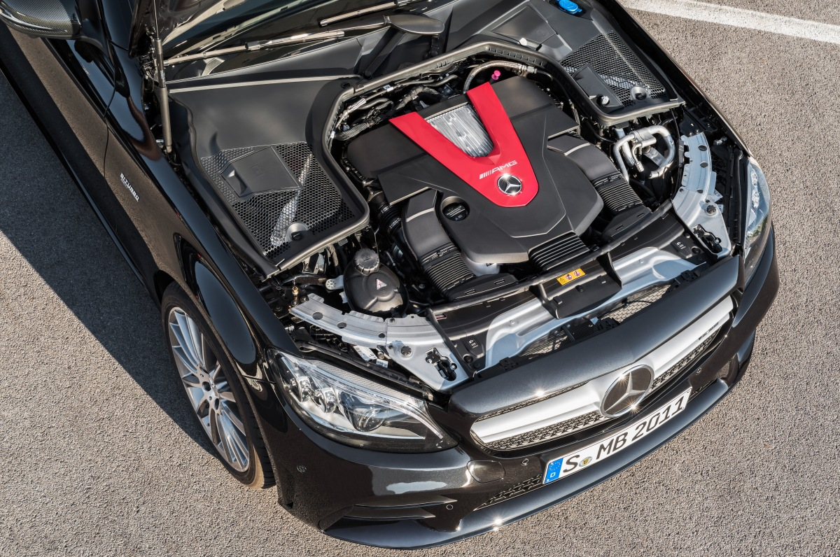 2019 mercedes-amg c 43 wagon engine