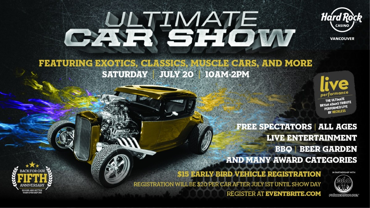 ultimate car show coquitlam