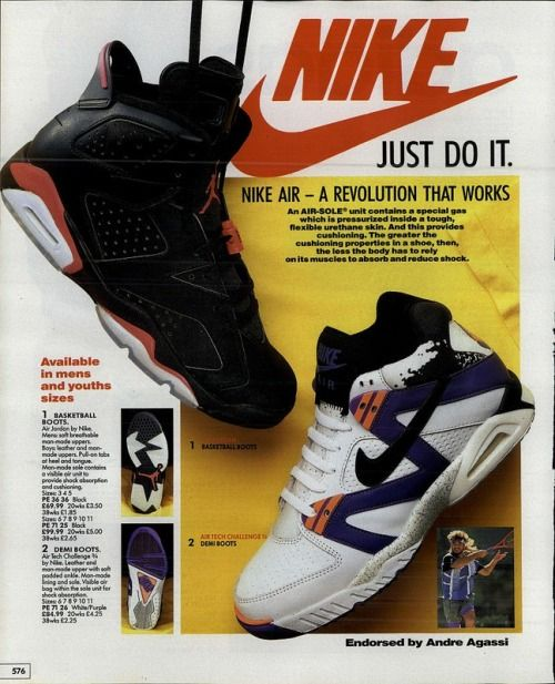 air jordan 6 original magazine ad