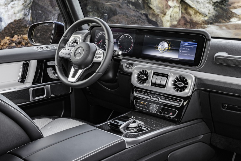 mercedes-benz g 550 interior