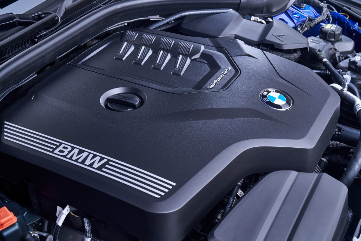 2019 bmw 3 series twinpower turbo engine