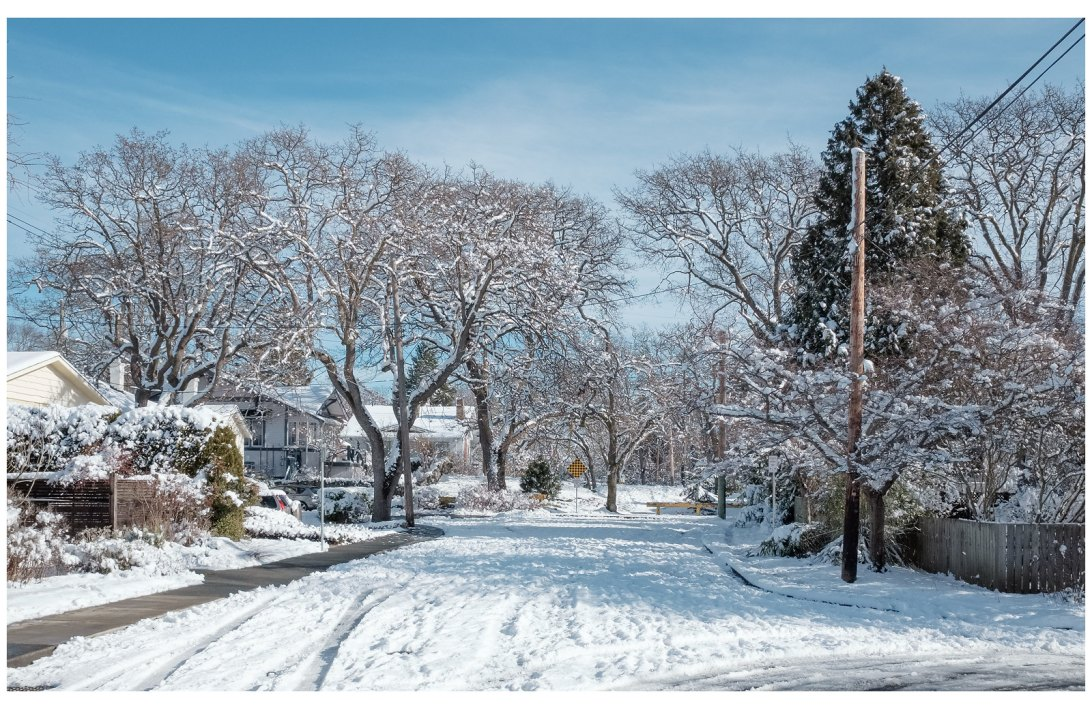 snowy victoria street