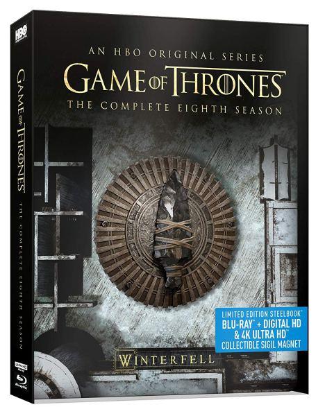 game of thrones season eight 4k steelbook