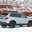 2020 honda passport rear three quarter