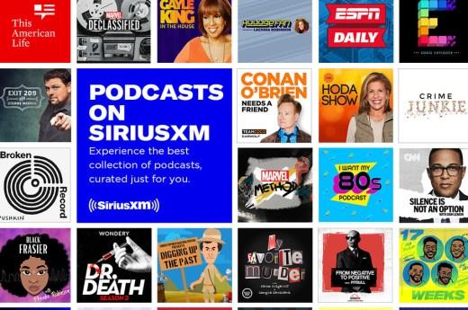 sirius xm canada podcast entertainment