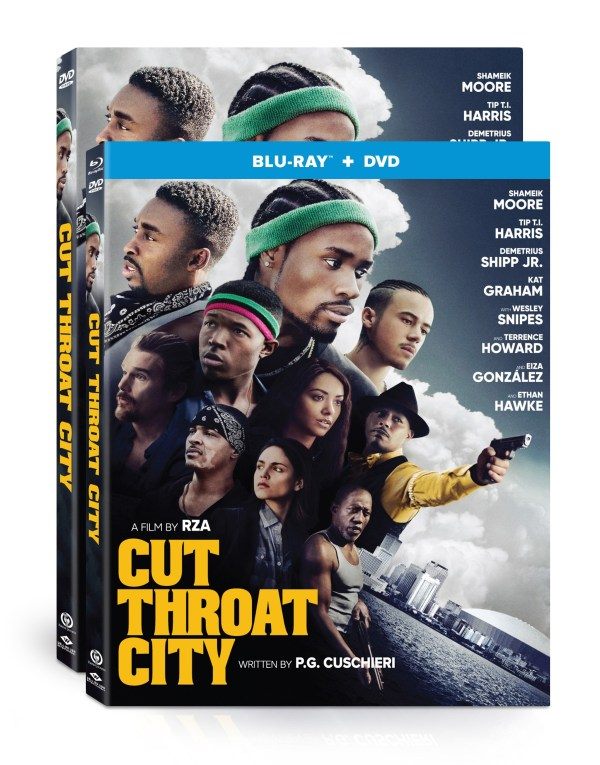cut throat city blu-ray dvd artwork