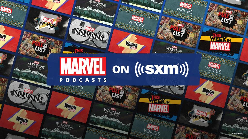 sirius xm marvel podcasts