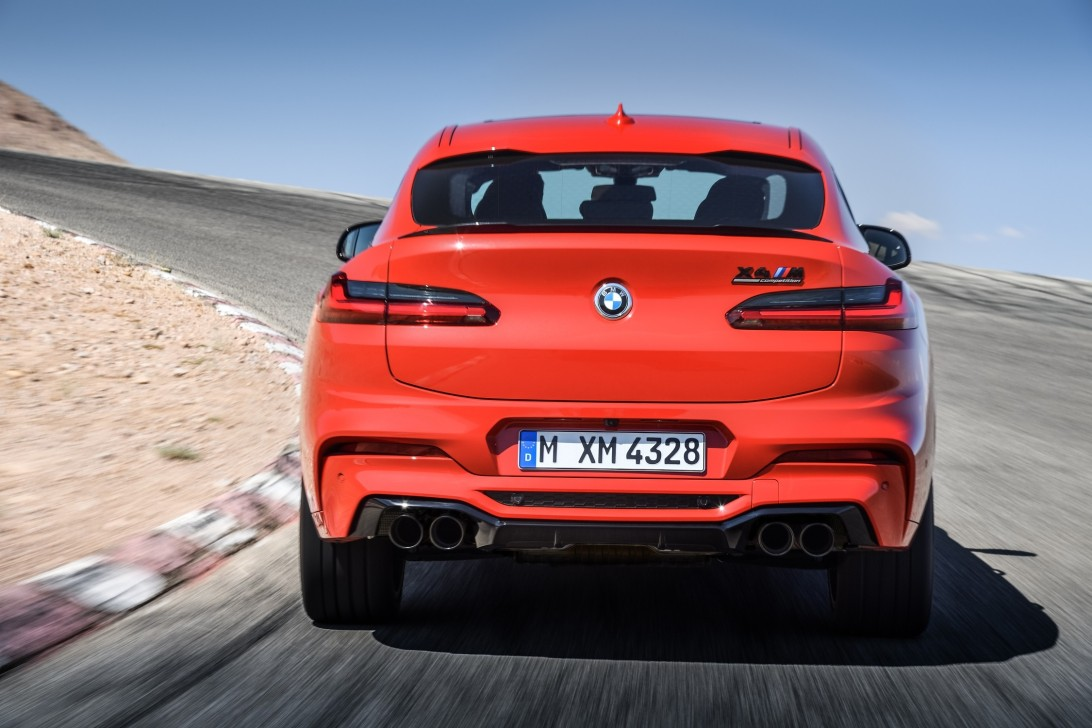 2021 bmw x4 m competition exhaust